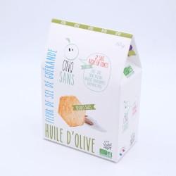 Cinqsans Huile d'Olive - Fleur de Sel de Guérande