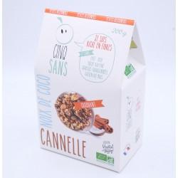 Cinqsans Noix de coco & Cannelle
