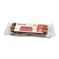 Barre de céréales Canneberge Bio