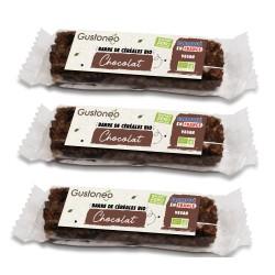 Barre de céréales Chocolat X3 Bio