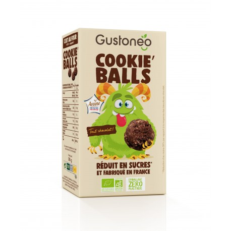 Cookie'Balls Tout Chocolat Bio