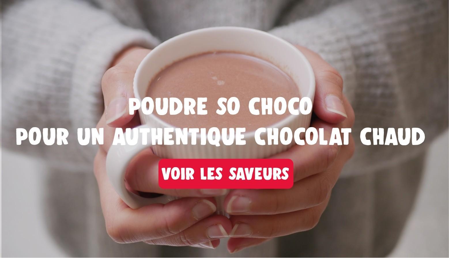 Chocolat chaud crémeux vegan